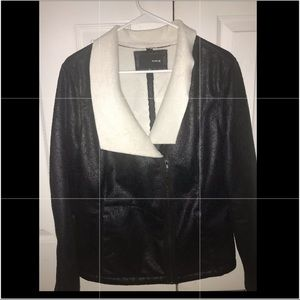 Soft Leather jacket with fur inside